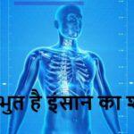 वैज्ञानिकों के अनुसार कितना दिलचस्प है इंसान का शरीर
